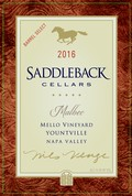 2016 Malbec, Mello Vineyard, Yountville